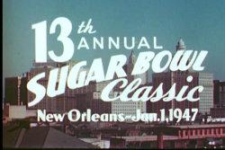 1947 Sugar Bowl