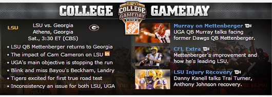 UGA-LSU Gameday