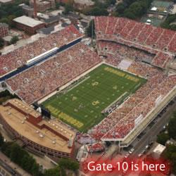 Gate 10 at Bobby Dodd Stadium
