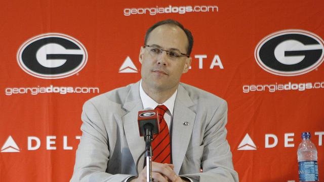 Georgia coach Mark Fox