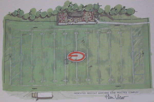 Redcoat practice field