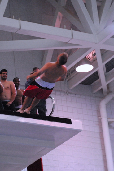 Richt dives