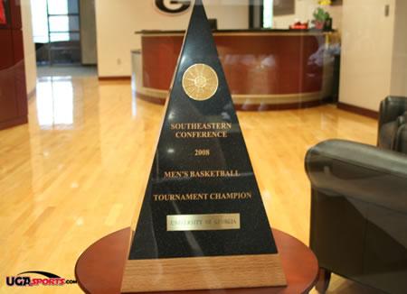 2008 SEC Tournament Trophy