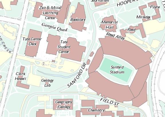 Tate 2 map